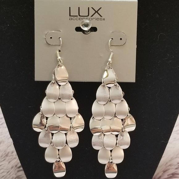 Lux Jewelry - Lux chandelier earrings.